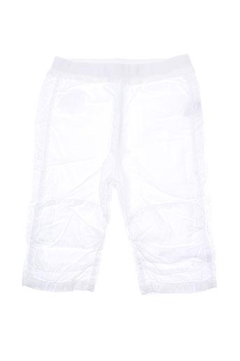 taille 0 pantalons enfant de couleur blanc