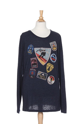 californian vintage t-shirts garçon de couleur bleu