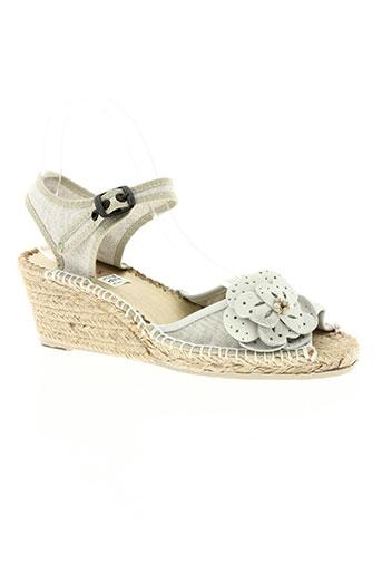 pare gabia chaussures femme de couleur beige