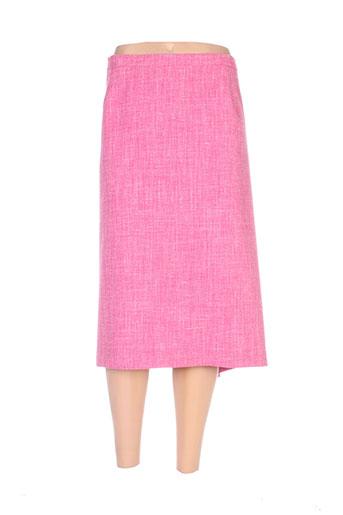 francoise jupes femme de couleur rose