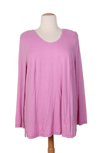 mona lisa t-shirts femme de couleur rose