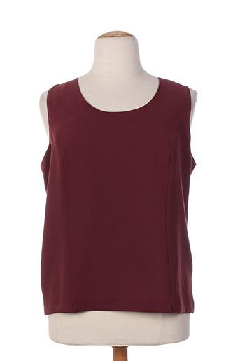 christian michel chemises femme de couleur violet