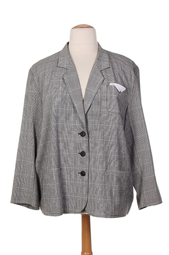 Veste casual gris PAUL MAUSNER pour femme
