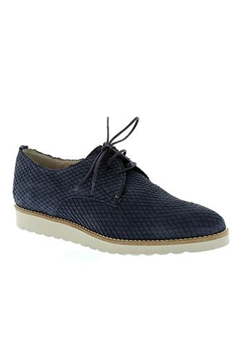 perlato chaussures femme de couleur bleu