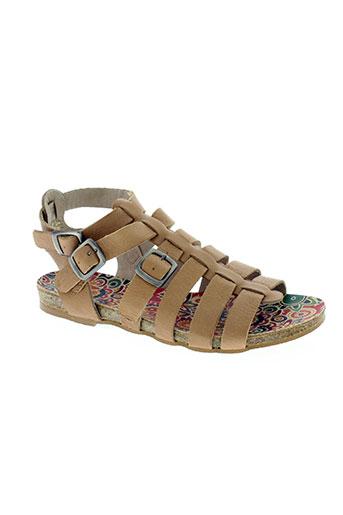 on zen chaussures femme de couleur beige