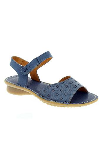 aice chaussures femme de couleur bleu