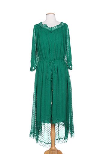 essentiel antwerp robes femme de couleur vert
