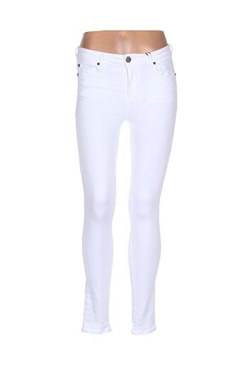 heartless jeans jeans femme de couleur blanc