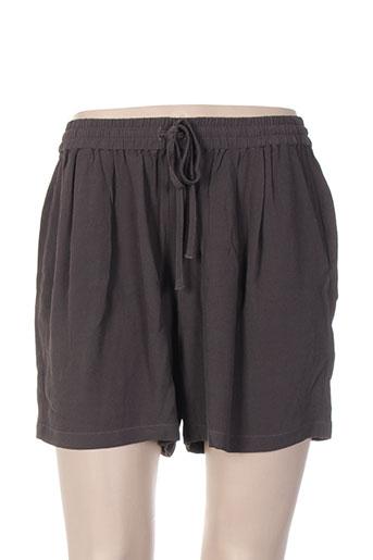 american vintage shorts / bermudas femme de couleur gris