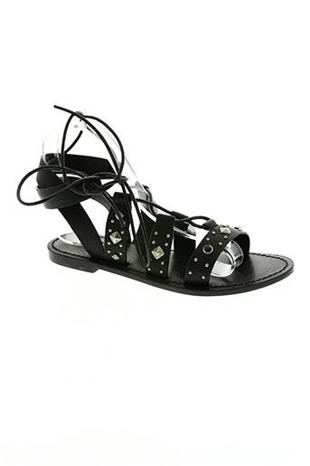 mkt studio chaussures femme de couleur noir