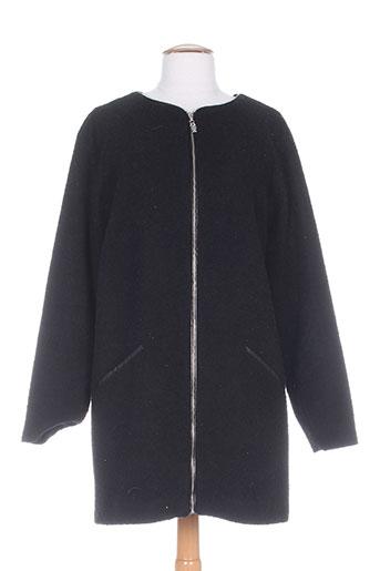 diplodocus manteaux femme de couleur noir