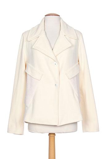 crea concept manteaux femme de couleur blanc