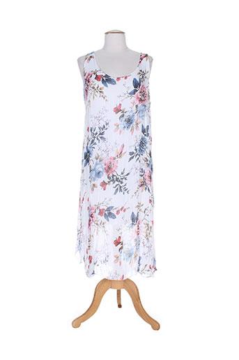 belle robes femme de couleur blanc