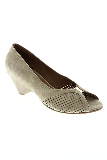 anonymous chaussures femme de couleur beige