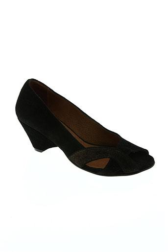 anonymous chaussures femme de couleur noir