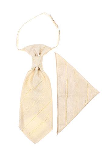 Cravate beige VIRTUOSE pour homme