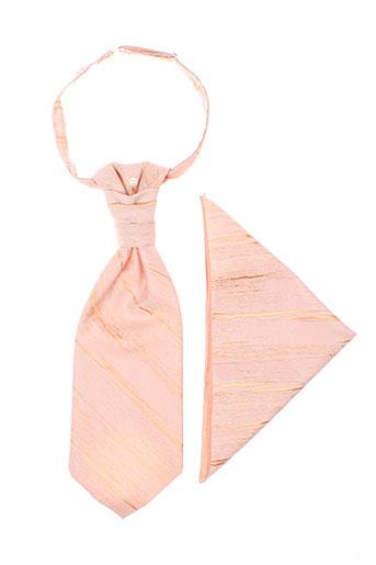 Cravate orange VIRTUOSE pour homme