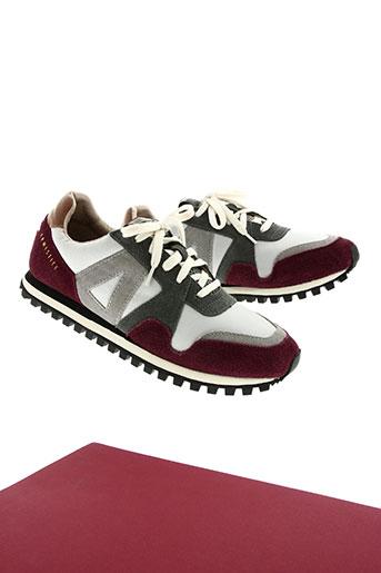 armistice chaussures homme de couleur gris