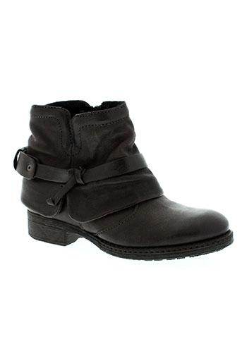 hooper shoes chaussures femme de couleur marron