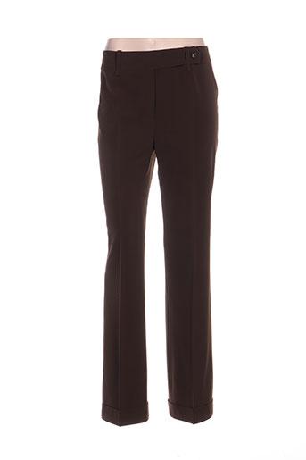 irene van ryb pantalons femme de couleur vert