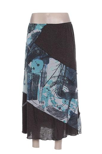lewinger jupes femme de couleur bleu