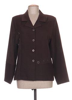 Veste casual marron GRIFFON pour femme