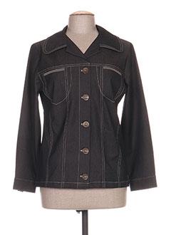 Veste en jean marron GRIFFON pour femme