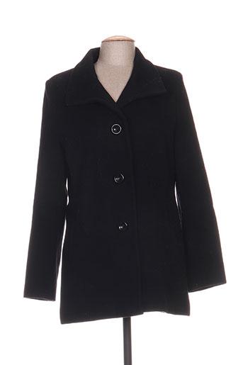 kirsten manteaux femme de couleur noir