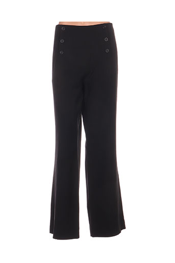 Pantalon chic noir EMMANUELI pour femme