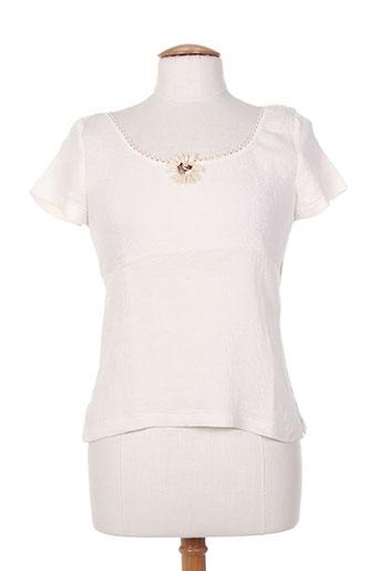 lo! les filles t-shirts femme de couleur beige