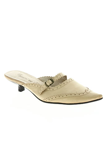butterfly chaussures femme de couleur beige
