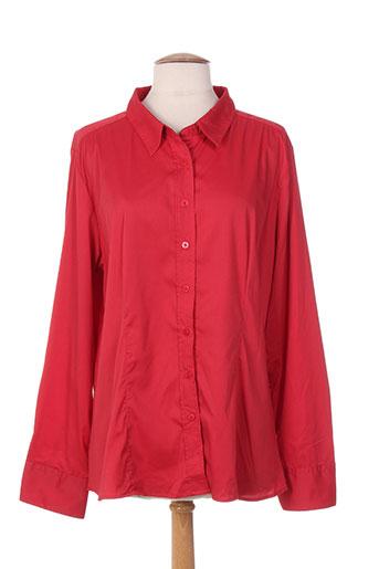 diego reiga chemises femme de couleur rouge