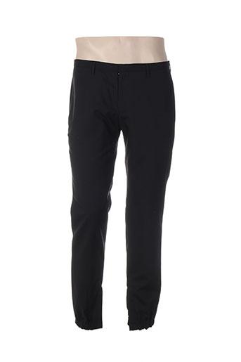 hugo boss pantalons homme de couleur noir