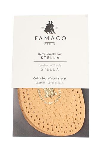 famaco chaussures femme de couleur beige