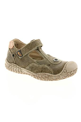 little mary chaussures garçon de couleur marron
