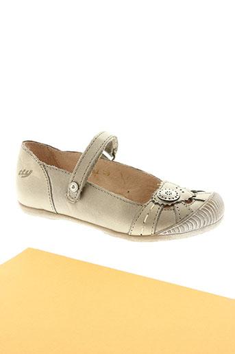tty chaussures fille de couleur beige