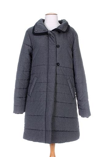 imitz manteaux femme de couleur gris