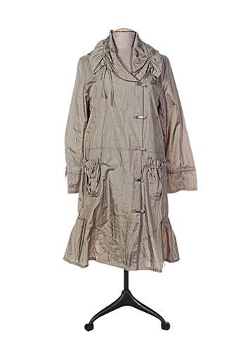 havrey manteaux femme de couleur vert