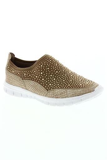 wilady chaussures femme de couleur beige