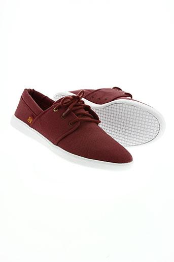 dc chaussures homme de couleur marron
