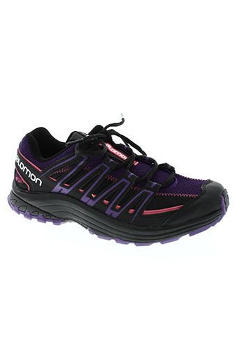 salomon chaussures femme de couleur violet