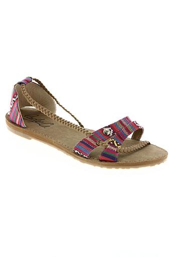 cool shoe chaussures femme de couleur rose