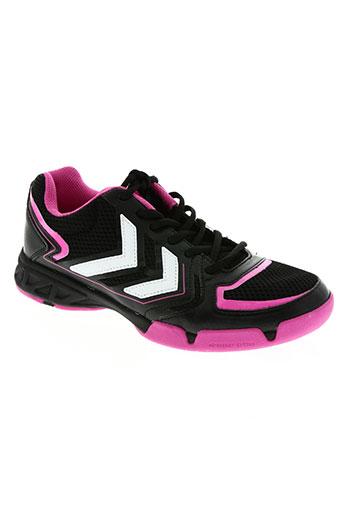 hummel chaussures femme de couleur rose