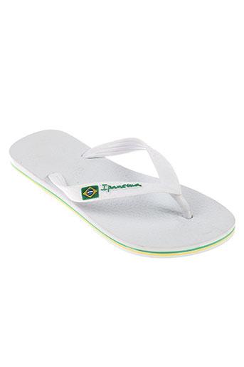 ipanema chaussures enfant de couleur blanc