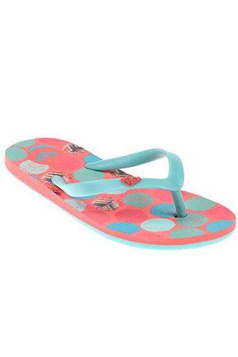 roxy girl chaussures fille de couleur rose