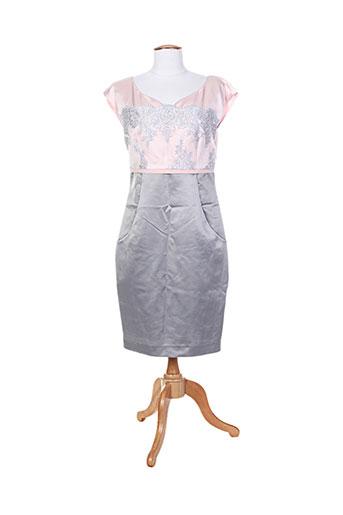 edas robes femme de couleur gris