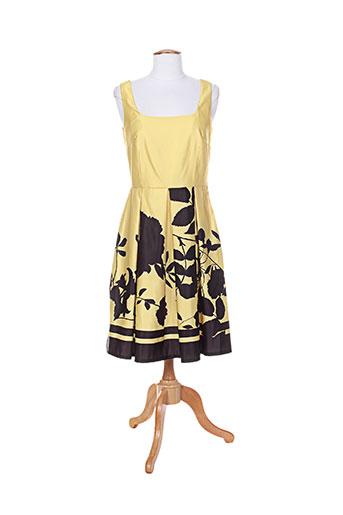 edas robes femme de couleur jaune