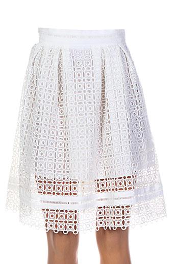 darling jupes femme de couleur blanc
