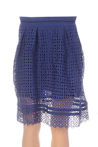 Jupe mi-longue bleu DARLING pour femme