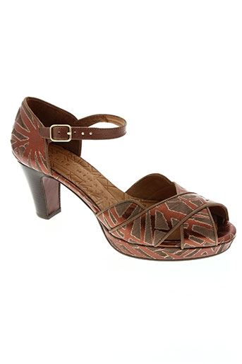 chie mihara chaussures femme de couleur marron